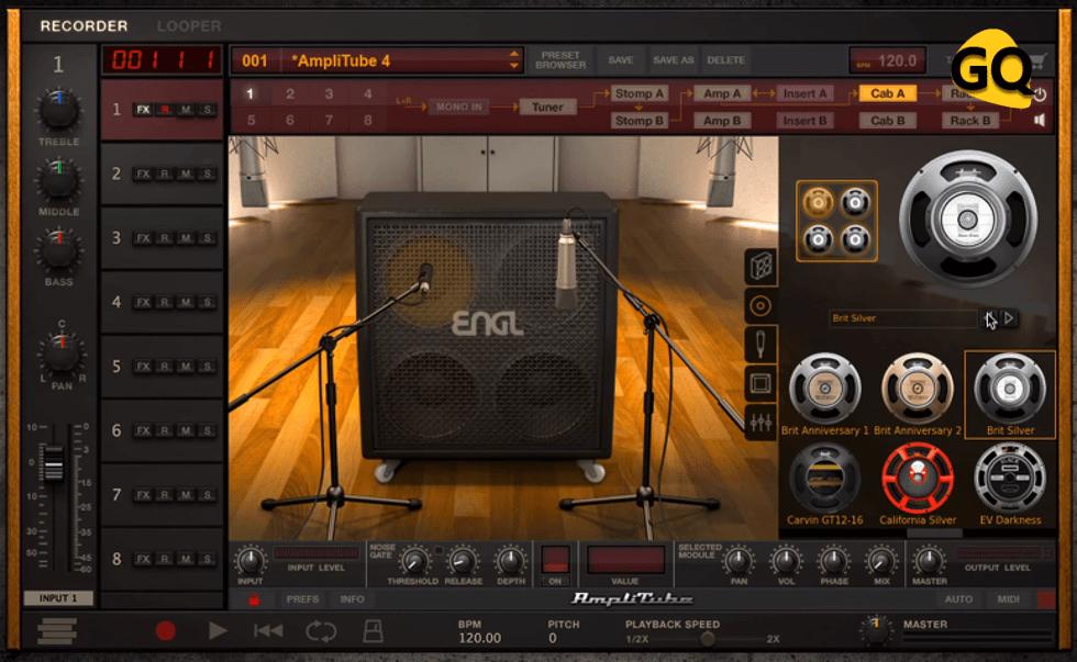 AmpliTube 4 Free, eines der besten virtuellen Gitarrenverstärker VST Plugins.