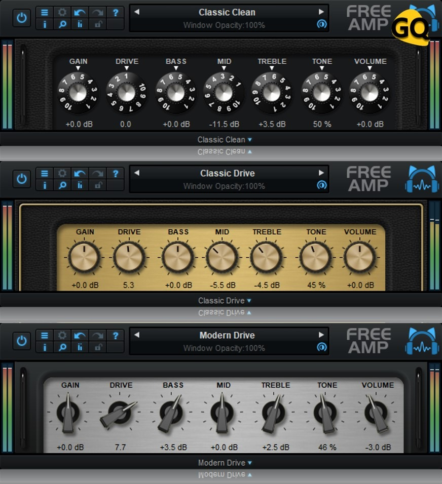 Blue Cat Audio Plugins: 3 simulateurs d'ampli entièrement gratuits.