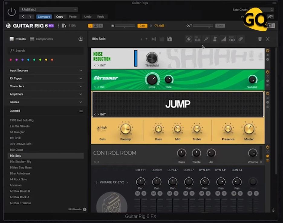 Guitar Rig 6 Pro ist die neueste Version eines der beliebtesten Gitarrenverstärker-Simulator.