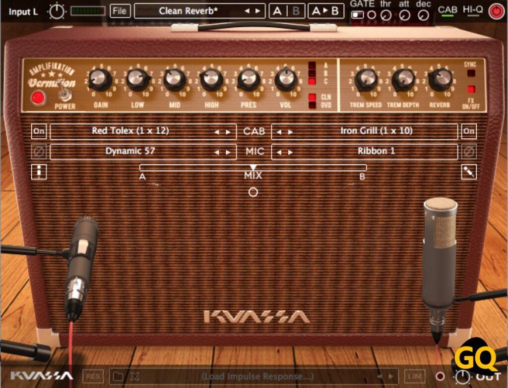 Kuassa Amplifikation Vermilion ist eine der besten Freeware für klassische Vintage-Ton-Gitarrenspieler.