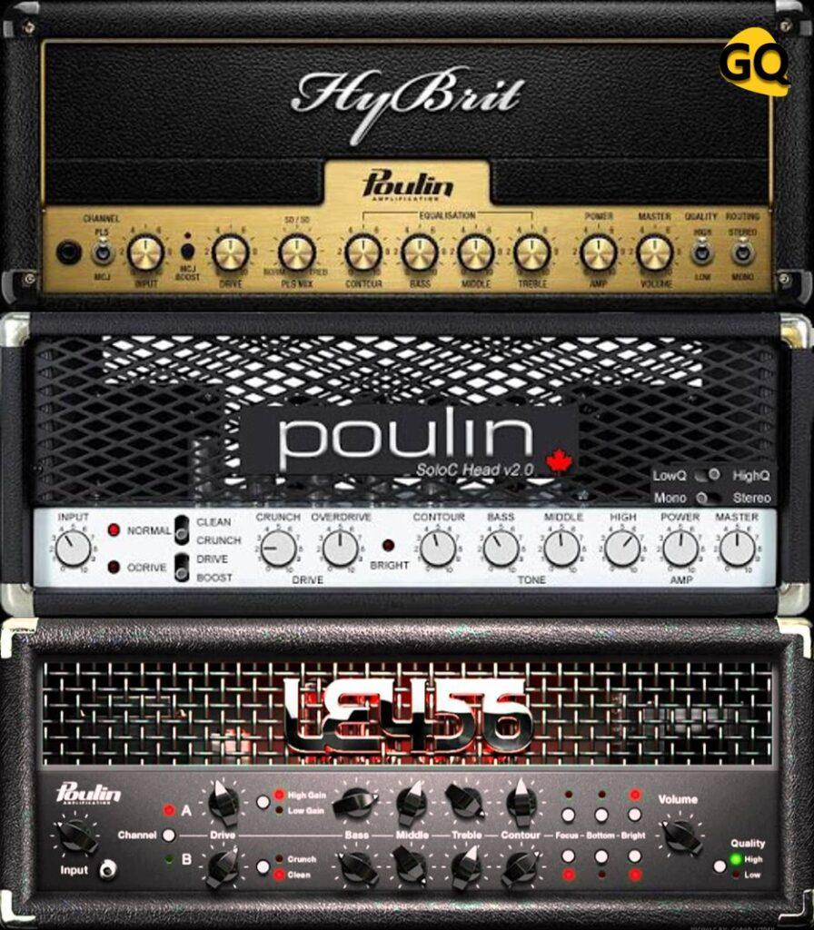 LePou Amp Sims, große kostenlose Gitarre Verstärker Simulatoren VST Plugins.