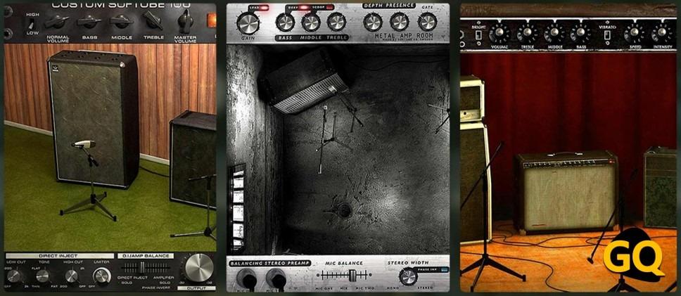 Softube Amp Room, ist eines der besten virtuellen Gitarrenverstärker VST Plugin.