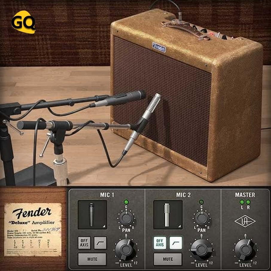 Universal Audio Fender 55 Tweed, eine der besten Gitarrenverstärker-Sims.