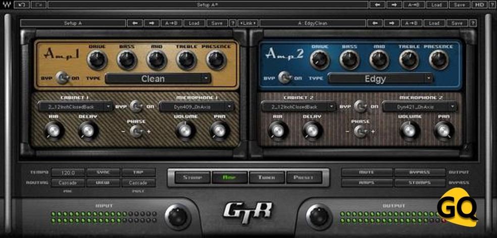 Waves GTR3 Amps, ein tolles VST-Plugin für Gitarre