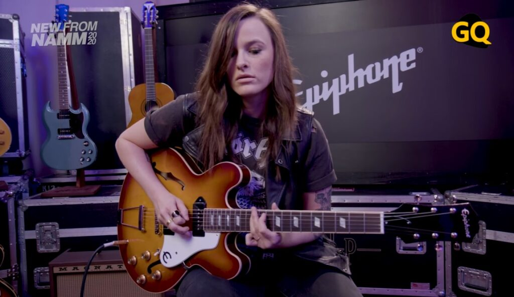에피폰 미국 카지노 P90 - 기타쿼터