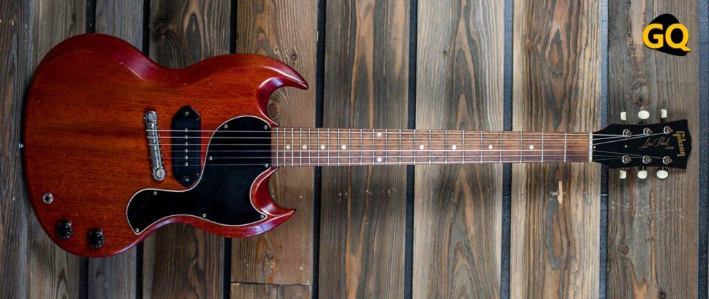 Gibson SG Les Paul Junior de 1961.