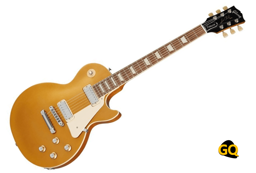Gibson Les Paul 70s Deluxe mit Gold Top Mini-Humbuckern