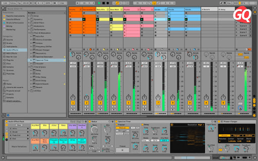 Ableton Live 11 Intro, one of the best DAW for beginner Windows PC users.