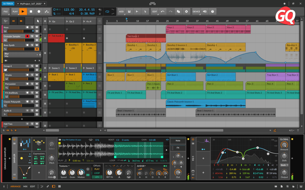 Bitwig Studio 16-track, one of the best recording software for your Home Studio.