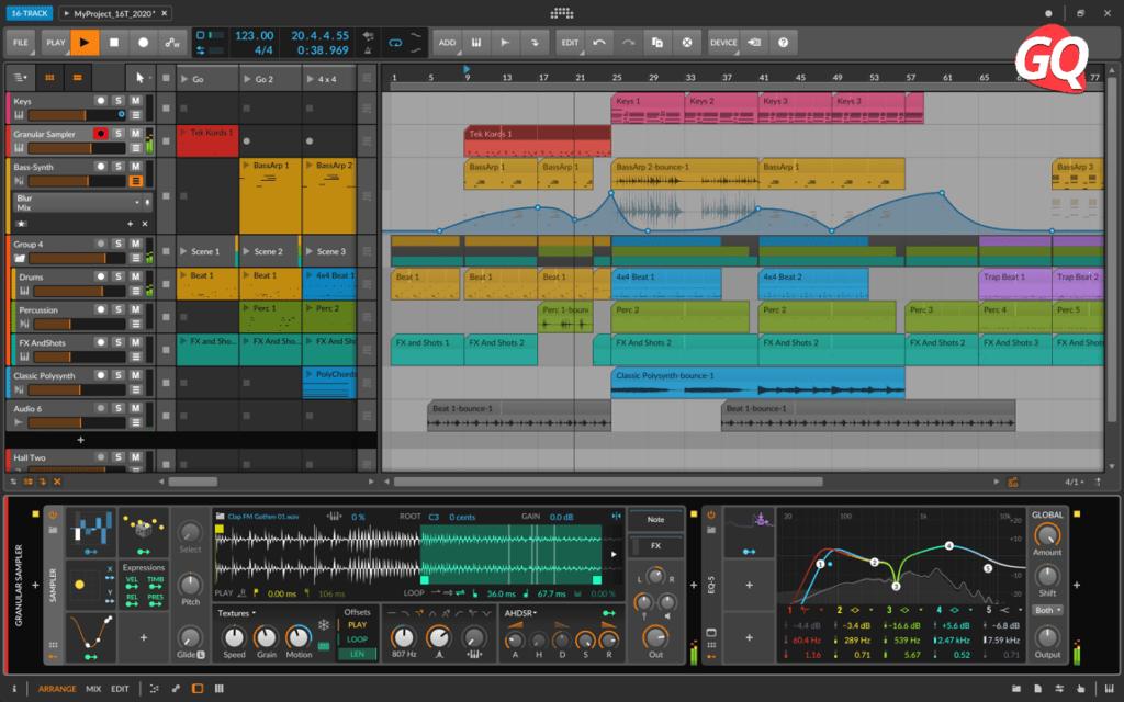 Bitwig Studio 16-track, uno de los mejores software de grabación para tu Home Studio.