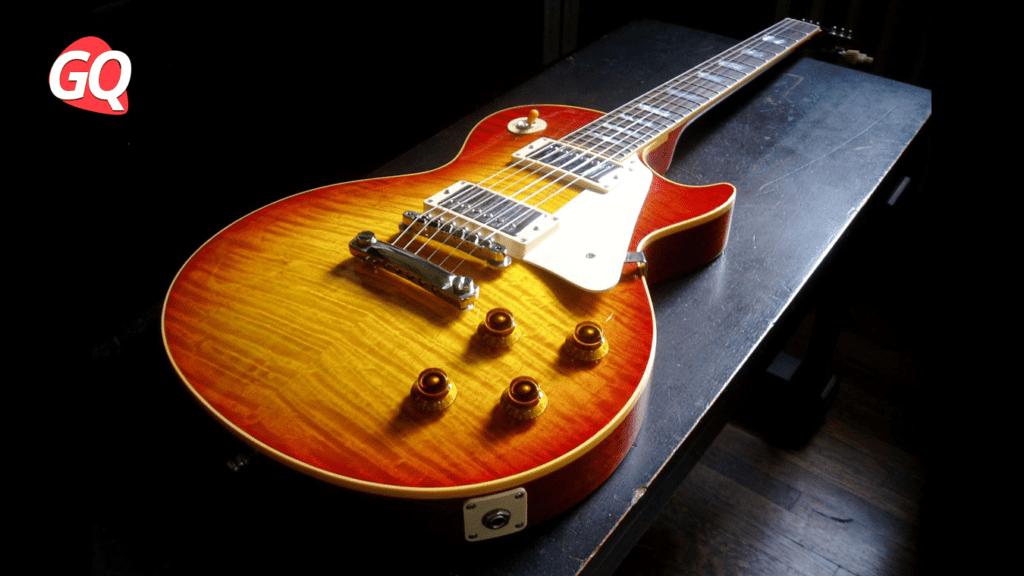 Chitarra Gibson Les Paul Standard Burst: sollievo o alleggerimento del peso.