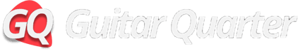 Guitar Quarter GQ Letters Logo