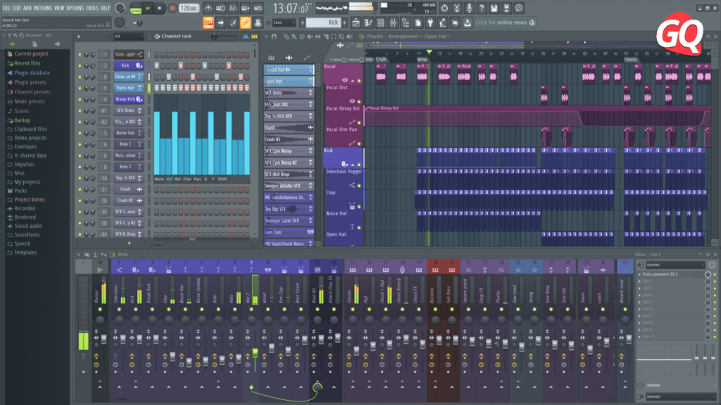 Image Line FL Studio Fruity Edition, one of the best DAW for newbies.