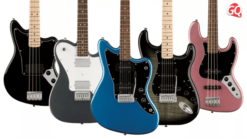 Squier Affinity Series Stratocaster HH Telecaster Jazzmaster, Jaguar Bass