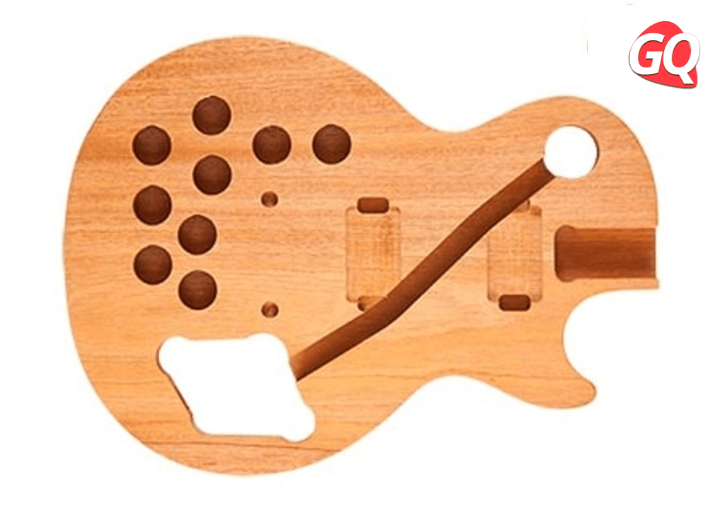 Alivio de peso tradicional de 9 agujeros de Gibson Les Paul.
