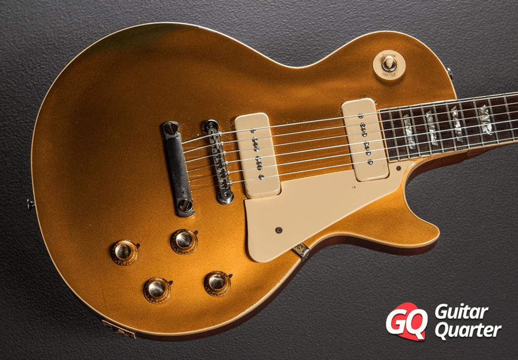 Gibson Les Paul Goldtop avec P90 de 1968.
