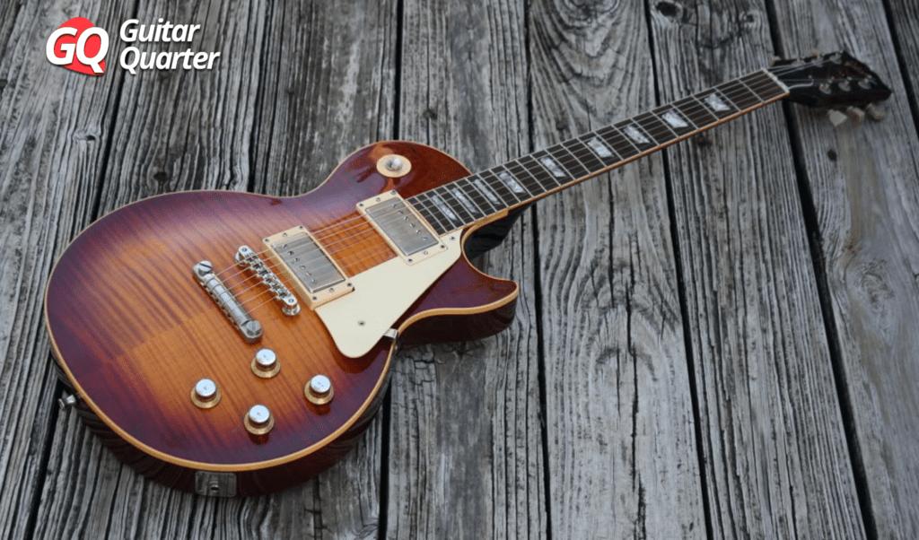 1988 Gibson Les Paul Burst Réédition.
