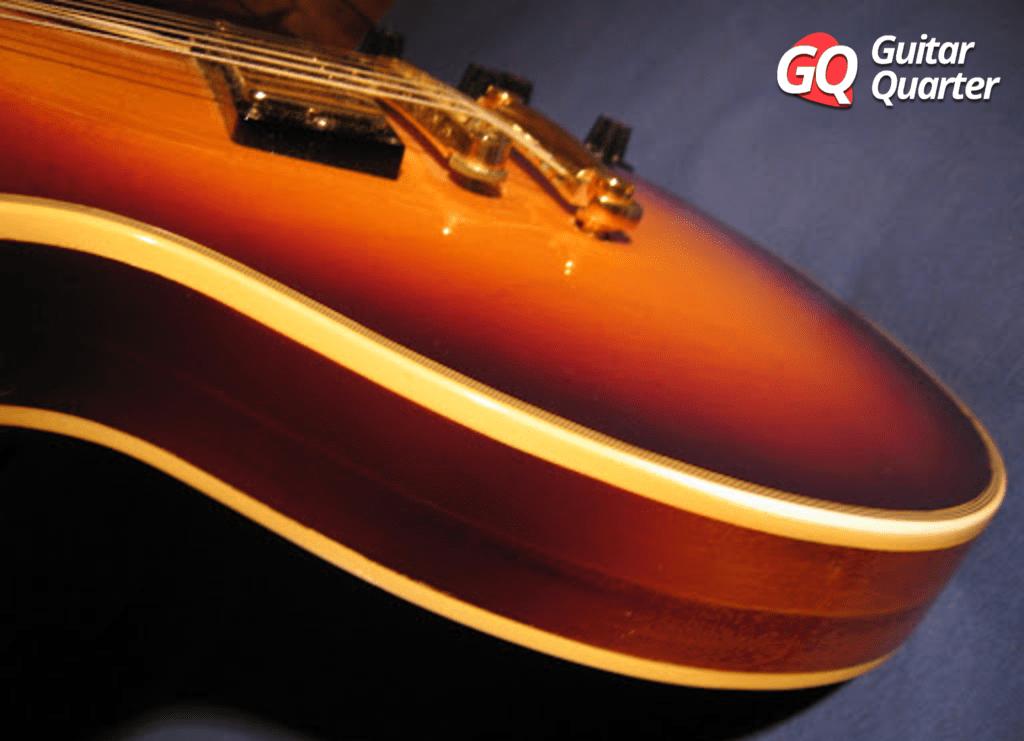 Gibson Les Paul 70s Norlin con cuerpo Pancake.