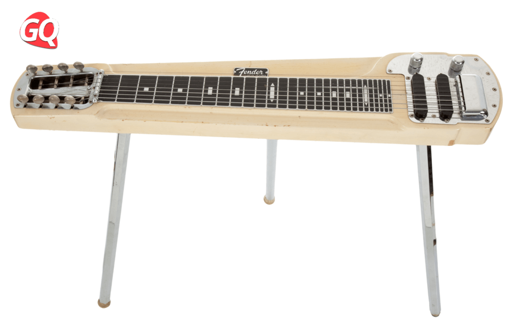 Some Lap Steel Guitars come with legs for comfort.