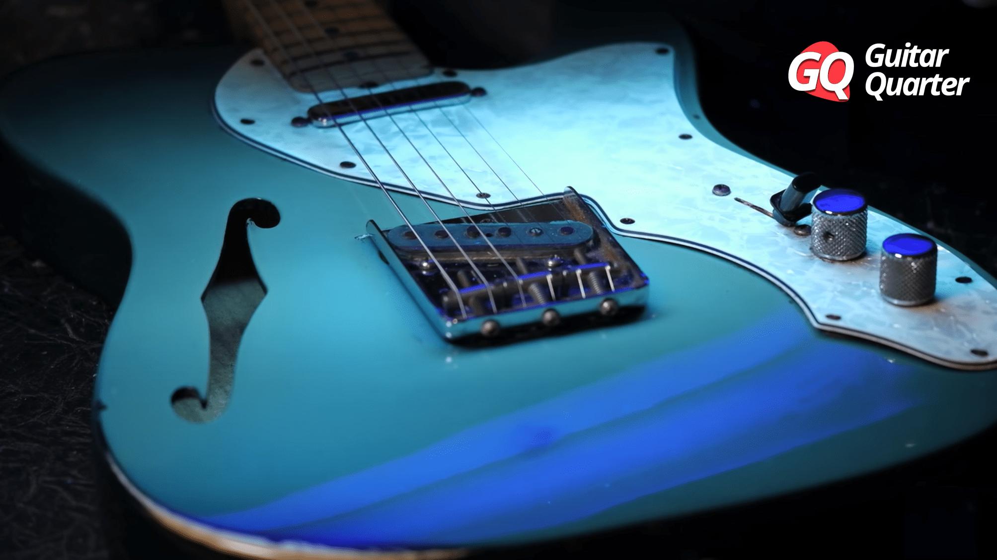 Luz Negra: ¿Cómo examinar el estado de guitarras vintage?
