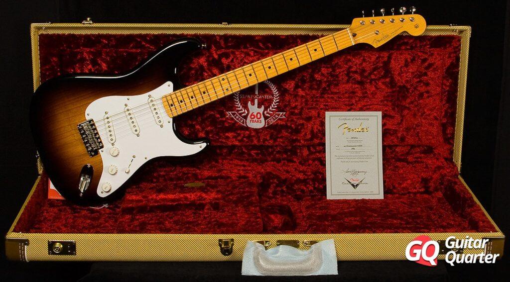 Fender Stratocaster American Vintage Reissue '54 Two-Tone Sunburst.